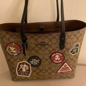 Coach X Star Wars large tote bag, limited edition